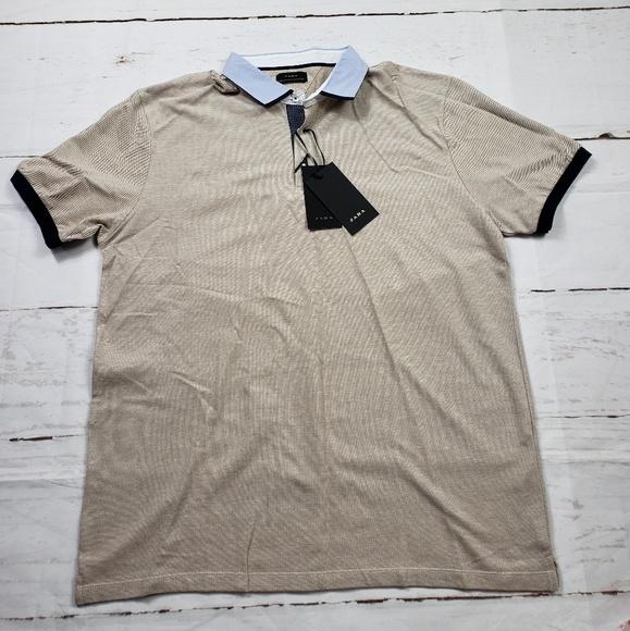 eb8d3187 Zara Shirts | New Mens Color Block Collar Top Size Xxl | Poshmark